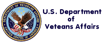 The US Departmet of Veterans Affairs : Logo and Link